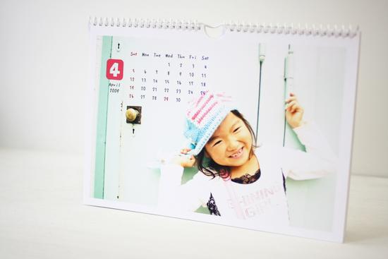 マイ写真で作る「手作りカレンダー」♪